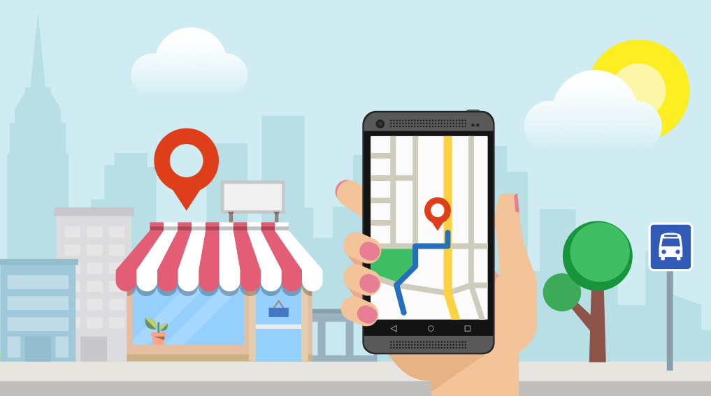 Google local business pages